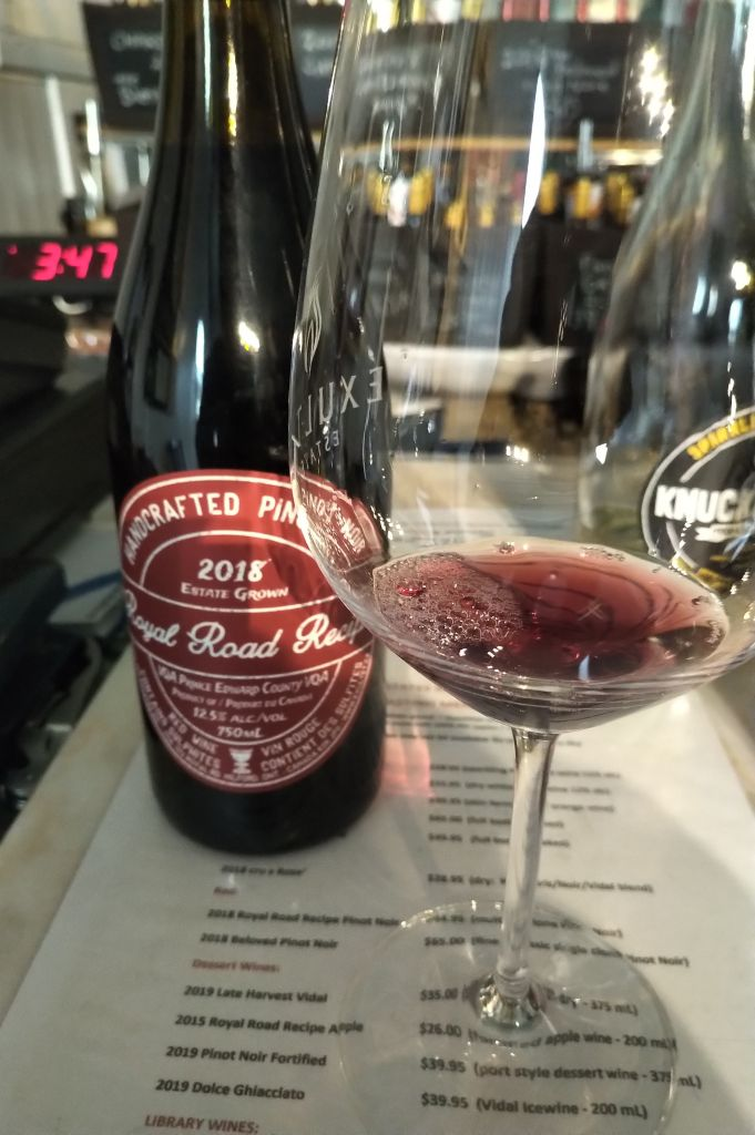 "Exultet's ""Royal Road"" Pinot Noir"